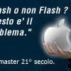iPad, iPhone, iDioti e siti web. Perchè non usare Adobe Flash nel web ?