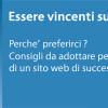 Essere Vincenti sul Web. Pubblicazione by dreamsnet.it