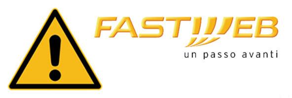 Avviso agli utenti Fastweb : problemi SPAM.