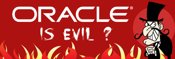 Oracle is Evil ? Storia di un commento su Facebook : censura e considerazioni personali.