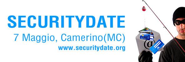 Sicurezza informatica al Securitydate a Camerino il 7 Maggio 2010