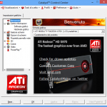ATI Mobility Radeon 9500, 9600, 9700, X300, x550, X600, x700, X800, x1050, X1300, x1550, and other, Windows 7, Windows 8 drivers