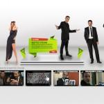 Le Iene di Mediaset e Dreamsnet.it : il componente slider in homepage del loro sito è opera nostra.