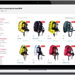 Subacquea e attrezzature professionali per il diving : Audaxpro.com