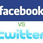 Confronto tra Twitter e Facebook. Come scrivere sui due social network popolari.